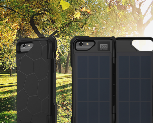 Best Solar Phone Charging Case by iPowerUp